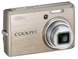 COOLPIX S600 (1000万画素/4倍/ゴールド/SDHC)