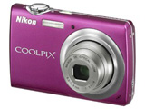 COOLPIX S220 (1000万画素/3倍/ビビッドピンク/SD)
