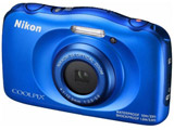 COOLPIX W100 ブルー 防水デジタルカメラ クールピクス
