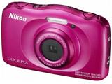 COOLPIX W100 ピンク 防水デジタルカメラ クールピクス