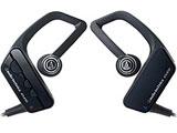 【在庫限り】 ブルートゥースイヤホン 耳かけインナーイヤー型(ブラック系)ATH-BT07[マイク付][防水仕様]