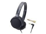 楽器用モニターヘッドホン(ブラック)ATH-EP300 BK[本体200g以下]