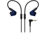 耳かけカナル型イヤホン(ネイビー)ATH-LS50 NV[リケーブル対応]