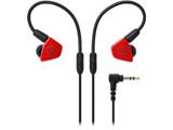 耳かけカナル型イヤホン(レッド)ATH-LS50 RD[リケーブル対応]