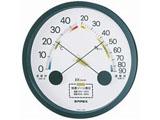 壁掛け用高精度温湿度計 「エスパス」 TM-2332(ブラック)
