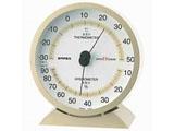卓上用高品質温湿度計 EX-2718(シャンパンゴールド)