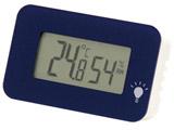 デジタル温湿度計 シュクレ・イルミー TD-8336 ネイビーブルー