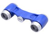 双眼鏡 Pliant(プリアン) 2.5×18 ウルトラコンパクト オペラグラス ブルー
