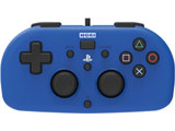ワイヤードコントローラーライト for PlayStation4 ブルー [PS4] [PS4-100]