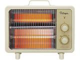 レトロ電気ストーブ FSWH-0958-WH