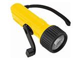 手動充電式LEDライト LD13YL イエロー