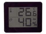 【在庫限り】 デジタル温湿度計 DO01BK(ブラック)