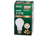 長寿命シリカ電球(40W形・口金E26)LW100V40WWL