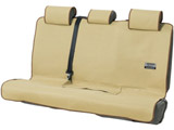4361-28BE シートカバー ファインテックス リヤ 後席シートベルト対応 ベージュ 軽・普通車用
