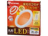 リモコン付丸形LEDランプセット3040 LDCL3040SS/N/29-CP 電球色 [電球色]