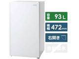【基本設置料金セット】 冷蔵庫 93L KRJD-9GA-W ホワイト [1ドア /右開きタイプ /93L]