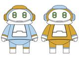 """【06月発売予定】 ちいさなメカトロメイト No.01 """"みずいろ&おれんじ"""" プラモデル"""