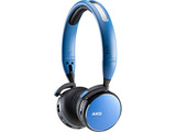 ブルートゥースヘッドホン  ブルー AKGY400BTBLU [リモコン・マイク対応 /Bluetooth]