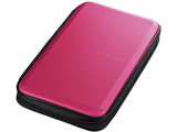 FCD-WLBD56P ブルーレイディスク対応セミハードケース(56枚収納/ピンク)