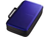 FCD-WLBD104BL ブルーレイディスク対応セミハードケース(104枚収納/ブルー)