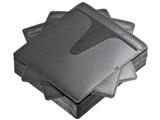 ブルーレイディスク対応不織布ケース(50枚入り・ブラック) FCD-FNBD50BK