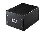 組み立て式DVD BOX (CD:37枚/DVD:17枚/Blu-ray:19枚収納)ブラック FCD-MT4BK