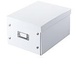 組み立て式DVD BOX (CD:37枚/DVD:17枚/Blu-ray:19枚収納)ホワイト FCD-MT4W