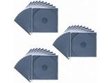 CD/DVD/Blu-ray対応収納ケース (1枚収納×30セット・ブラック) FCD-PN30BK