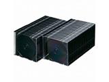 CD/DVD/Blu-ray対応収納ケース (1枚収納×100セット・マットブラック) FCD-PU100MBK