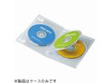 CD/DVD/Blu-ray対応収納トールケース (3枚収納×3セット・クリア) DVD-TN3-03C