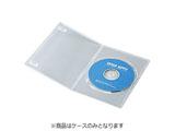 CD/DVD/Blu-ray対応収納スリムトールケース (1枚収納×10セット・クリア) DVD-TU1-10C