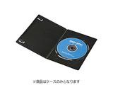 CD/DVD/Blu-ray対応収納スリムトールケース (1枚収納×30セット・ブラック) DVD-TU1-30BK