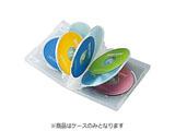 CD/DVD/Blu-ray対応収納トールケース (8枚収納×3セット・クリア) DVD-TW8-03C