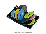 CD/DVD/Blu-ray対応収納トールケース (10枚収納×3セット・ブラック) DVD-TW10-03BK