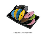 CD/DVD/Blu-ray対応収納トールケース (12枚収納・ブラック) DVD-TW12-01BK