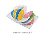 CD/DVD/Blu-ray対応収納トールケース (12枚収納×3セット・ホワイト) DVD-TW12-03W