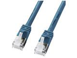カテゴリー5e対応 STP LANケーブル ギガビットイーサネット対応 (ライトブルー・1.0m) KB-STPTS-01BL
