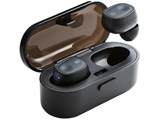 MM-BTTWS001BK ブラック【本体2.5時間再生】【片耳4.5g】完全ワイヤレスイヤホン カナル型