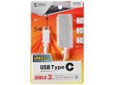 USB-3TCH2S(シルバー)  USB-C 3.1ハブ[3ポート・バスパワー・Mac/Win]