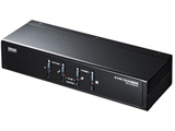 PS/2・USB両対応パソコン自動切替器(4:1) SW-KVM4UP