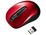 MA-WBL41R 無線BlueLEDマウス[USB・Mac/Win](3ボタン・レッド)