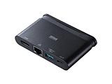 USB-3TCH16BK USB Type-Cドッキングハブ[LANポート・HDMIポート]