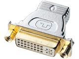 HDMIアダプタ (DVI29pin(DVI-I)メス インチナット(4-40)-HDMIメス) AD-HD04 [HDMI⇔DVI]
