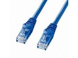 カテゴリー6  LANケーブル (ブルー・0.5m) LA-Y6-005BL