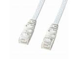 カテゴリー6対応 LANケーブル (ホワイト・10m) LA-FL6-10W