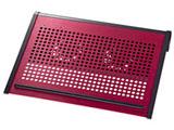 ノート用クーラーパッド (〜14.1型ワイド対応・レッド) TK-CLN16U2RN