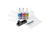 【詰替】[キヤノン:BCI-351C/BCI-351M/BCI-351Y(3色)対応]詰め替えインク(専用工具付) INK-C351S30S