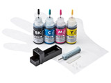【詰替】 [キヤノン:BCI-351BK/BCI-351C/BCI-351M/BCI-351Y(4色)対応]詰め替えインク(専用工具付) INK-C351S30S4