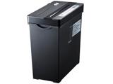 クロスカットシュレッダー (A4サイズ/CD・DVD・カードカット対応) PSD-AW5534BK (ブラック)