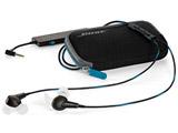 イヤホン カナル型 QuietComfort20 Acoustic Noise Cancelling headphones ブラック SM BK QC20 [ノイズキャンセリング対応]